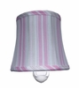 Little House Cottage Stripe Pink Night Light