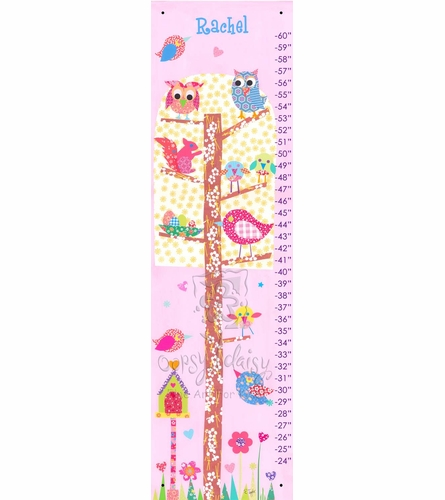 Little Owls Growth Chart
