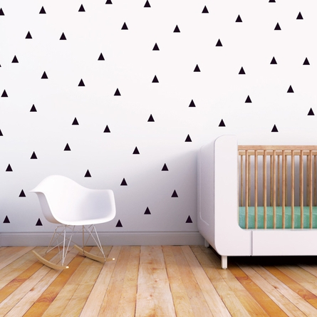 Little Peaks Wall Decal