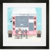 Little Petite Cafe Framed Art Print