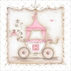 Little Princess Carriage II Canvas Wall Art