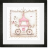 Little Princess Carriage II Framed Art Print