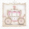 Little Princess Carriage III Canvas Wall Art