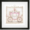 Little Princess Carriage III Framed Art Print