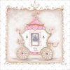 Little Princess Carriage IV Canvas Wall Art