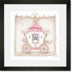 Little Princess Carriage IV Framed Art Print