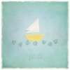 Little Sailboat Personalized Canvas Wall Art