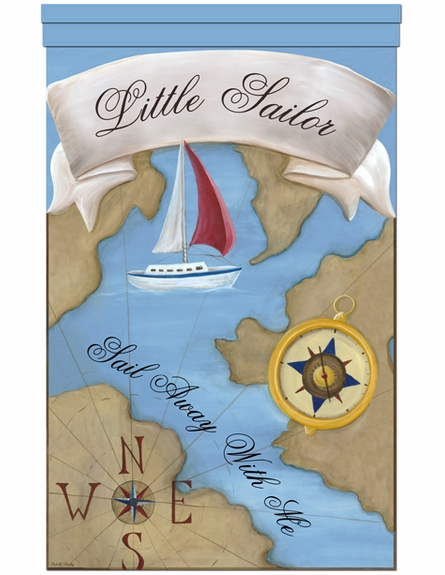 Little Sailor Personalized Wall Hanging