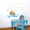 Little Ship Wall Decal