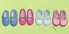 Little Shoes Canvas Wall Art