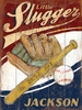 Little Slugger Vintage Wood Sign