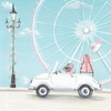 Little White Convertible Canvas Wall Art