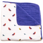 Little Wings Cotton Muslin Quilt