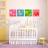 Lively Letters Spell & Stick Wall Stickers