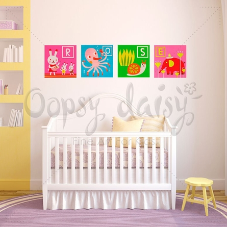 Lively Letters Peel & Place Wall Stickers