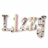Lizzy Mod Pop Moneys Hand Painted Wall Letters