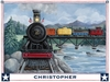 Locomotive Journey Canvas Wall Art