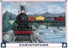 Locomotive Journey Placemat