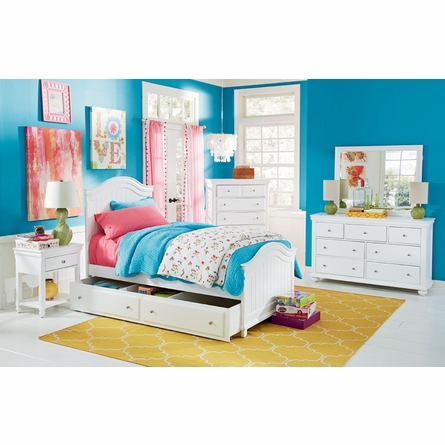 Lola Twin Panel Bed