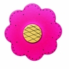 Lollipop Flower Bright Magenta Drawer Pull