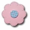 Lollipop Flower Pastel Pink Drawer Pull