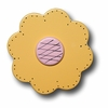 Lollipop Flower Pastel Yellow Drawer Pull