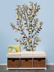 Lone Birch Tree Peel & Place Wall Stickers