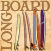 Longboard Canvas Reproduction