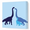 Longneck Dinosaur Canvas Wall Art