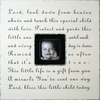 Lord, Look Down from Heaven Square Picture Frame
