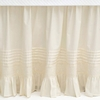 Louisa Ivory Bed Skirt