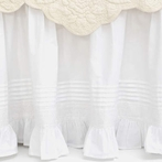 Louisa White Bed Skirt