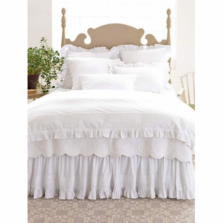 Louisa White Euro Sham