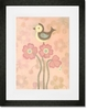 Love Bird - Pink Framed Art Print