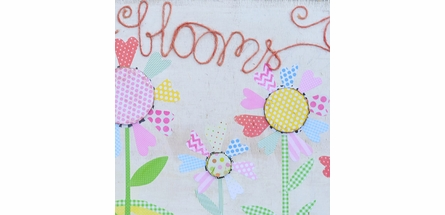Love Blooms Canvas Wall Art