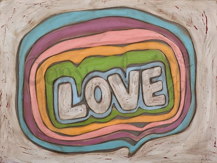 Love Bubbles Canvas Wall Art