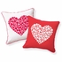 Love Button Reversible Throw Pillow