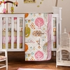 Lovebirds Quilted Crib Comforter