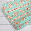 Lovely Coral Lace Changing Pad Cover