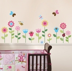 Lovely Garden Wall Decals