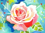 Lovely Rose Canvas Wall Art