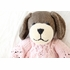 Lucy Dog Hand-Knit Organic Stuffed Toy