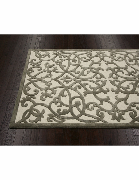 Lucy Rug in Nickel