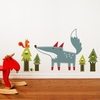 Luka the Wolf Wall Decal