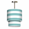 Lumiere Cabana Stripes Pendant