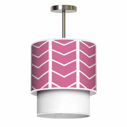 Lumiere Grand Herringbone Pendant