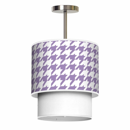 Lumiere Houndstooth Pendant