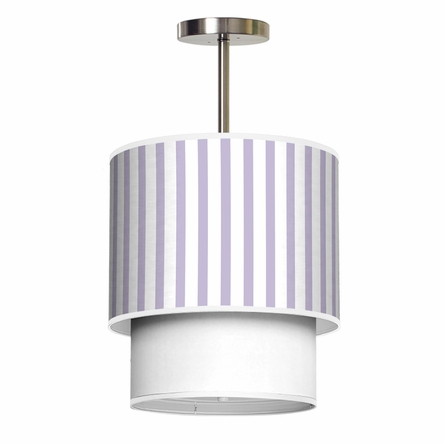 Lumiere Ticking Stripes Pendant