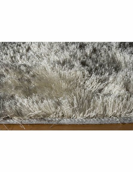 Luster Shag Rug in Champagne