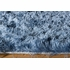 Luster Shag Rug in Light Blue